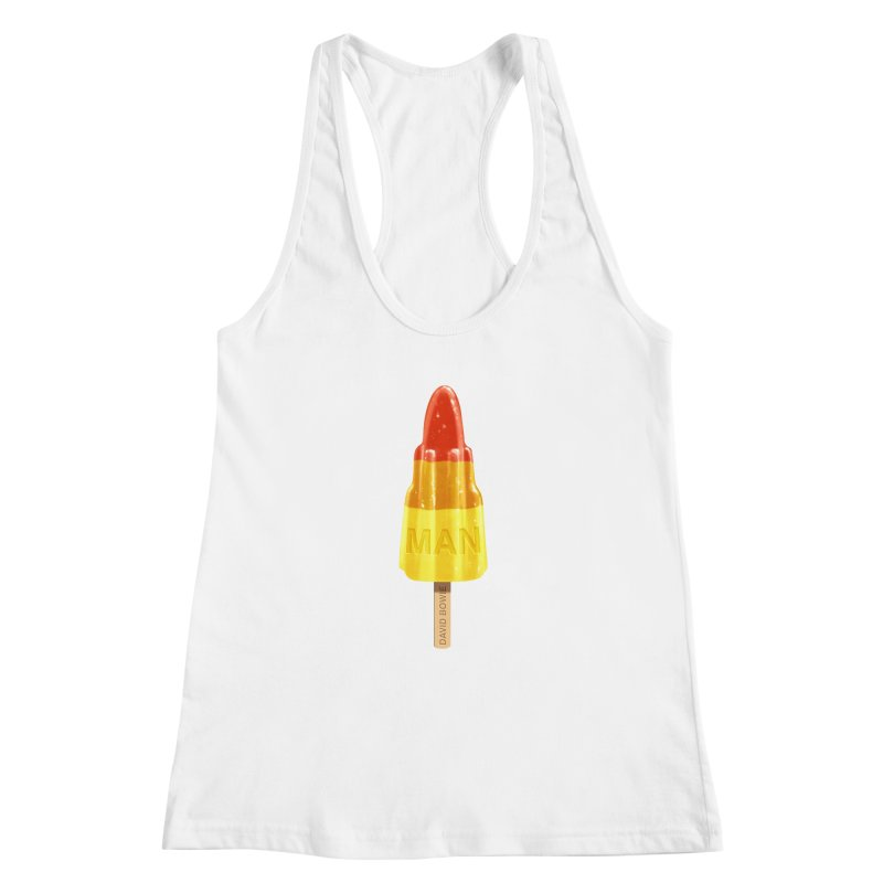 Rocket Man Women's Racerback Tank by steveash's Artist Shop