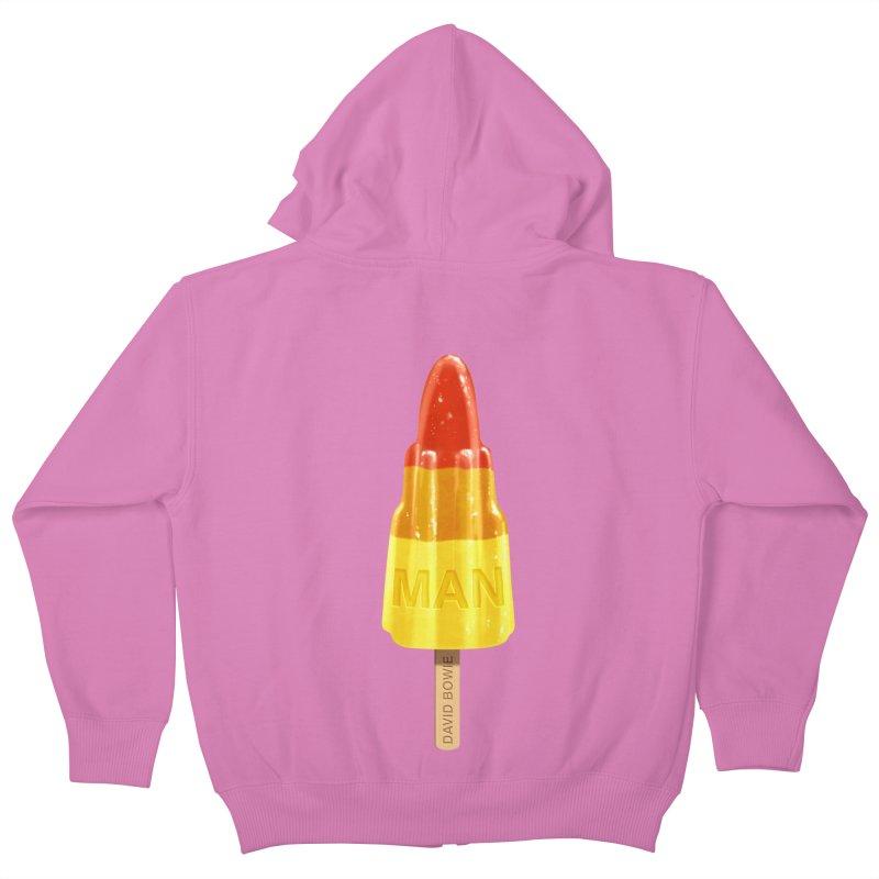 Rocket Man Kids Zip-Up Hoody by steveash's Artist Shop