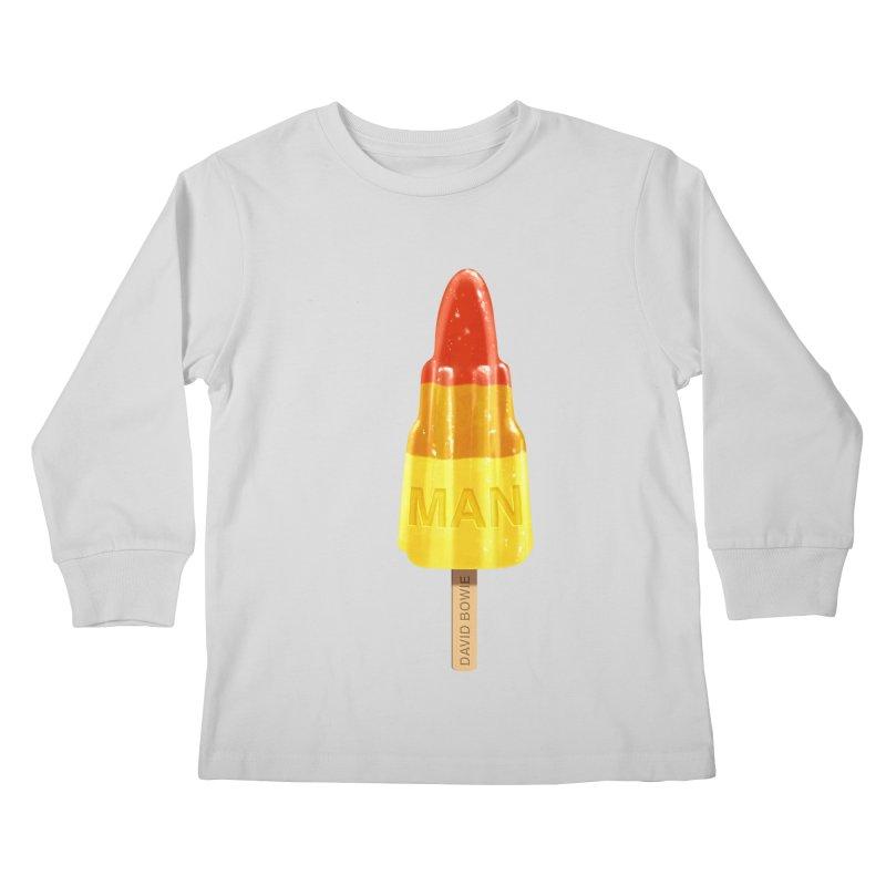 Rocket Man Kids Longsleeve T-Shirt by steveash's Artist Shop