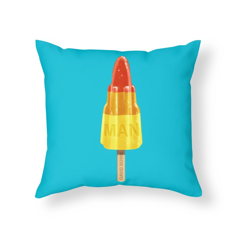 Rocket Man Home Throw Pillow by steveash's Artist Shop