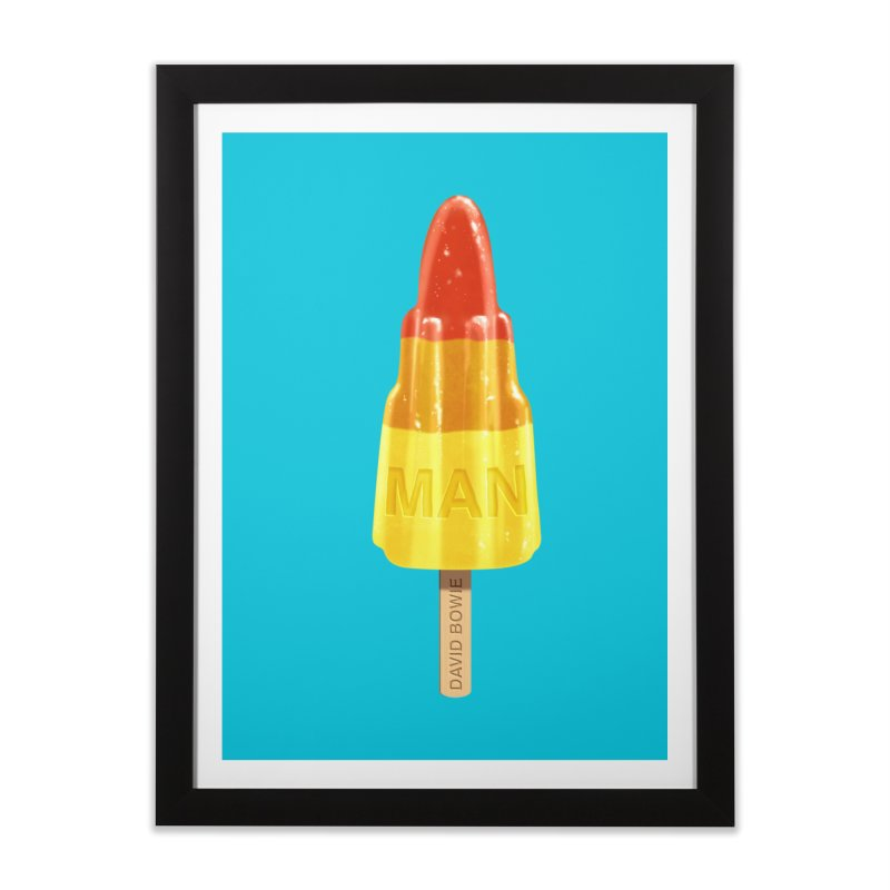 Rocket Man Home Framed Fine Art Print by steveash's Artist Shop