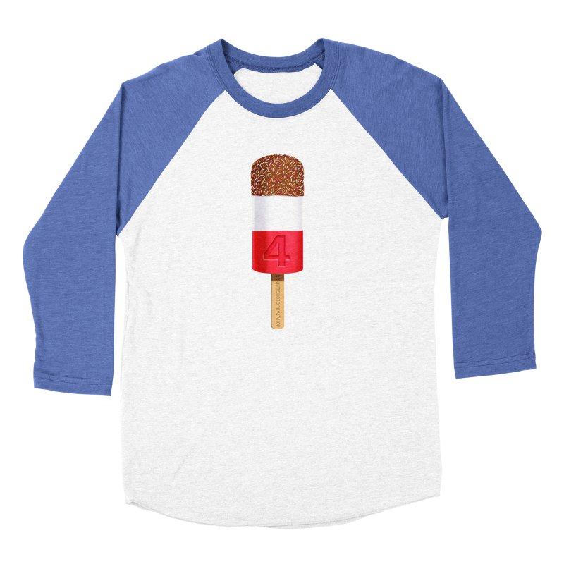 FAB 4 Women's Baseball Triblend Longsleeve T-Shirt by steveash's Artist Shop