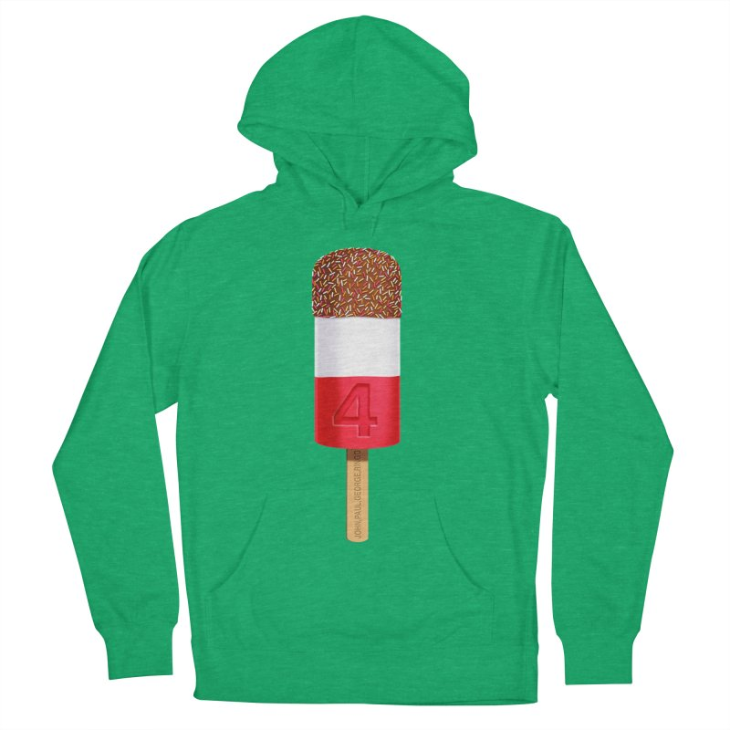 FAB 4 Men's French Terry Pullover Hoody by steveash's Artist Shop