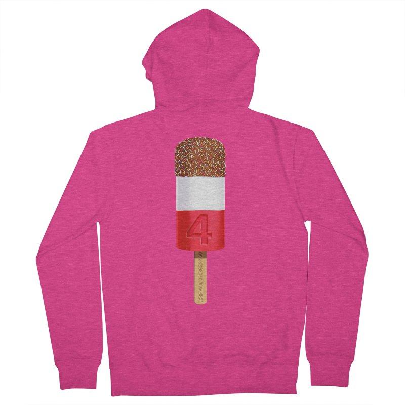 FAB 4 Women's Zip-Up Hoody by steveash's Artist Shop