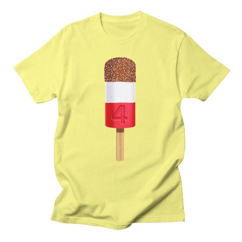 FAB 4 Women's Regular Unisex T-Shirt by steveash's Artist Shop