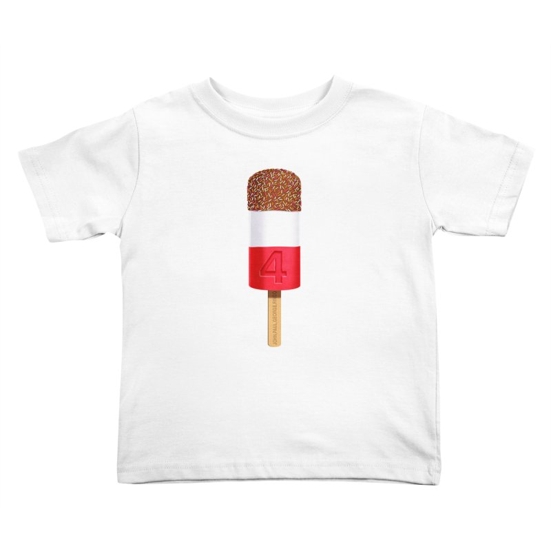 FAB 4 Kids Toddler T-Shirt by steveash's Artist Shop
