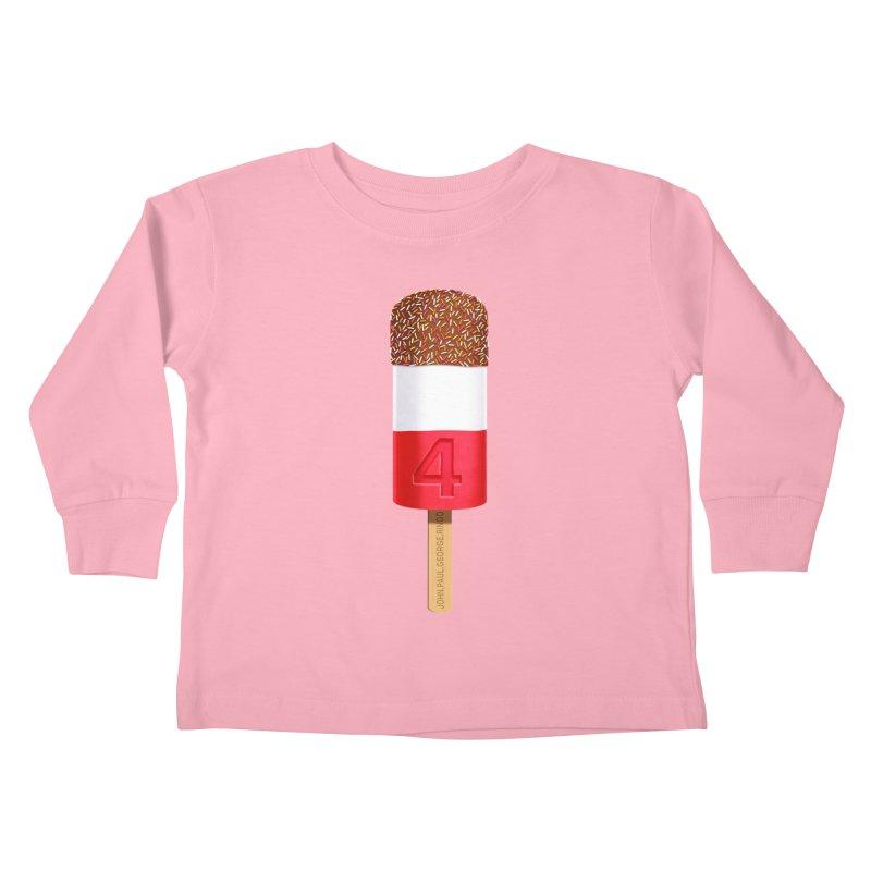 FAB 4 Kids Toddler Longsleeve T-Shirt by steveash's Artist Shop