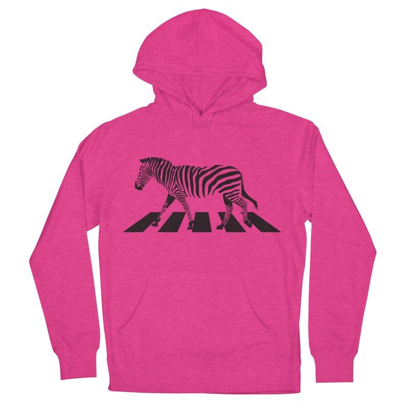 Zebra Crossing Women's Pullover Hoody by steveash's Artist Shop