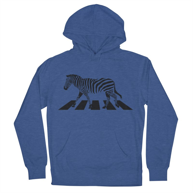 Zebra Crossing Men's Pullover Hoody by steveash's Artist Shop