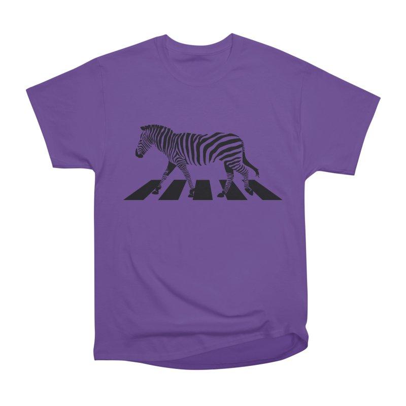 Zebra Crossing Men's Classic T-Shirt by steveash's Artist Shop