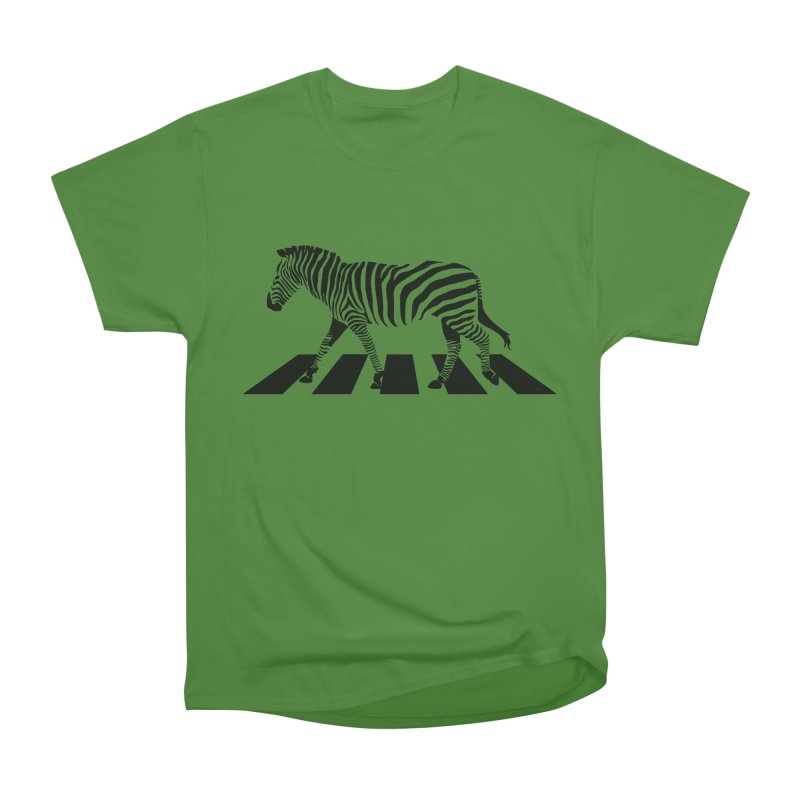 Zebra Crossing Men's Classic T-Shirt by steveash's Artist Shop