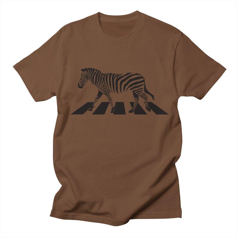 Zebra Crossing Women's Unisex T-Shirt by steveash's Artist Shop