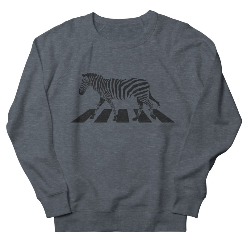 Zebra Crossing Women's Sweatshirt by steveash's Artist Shop