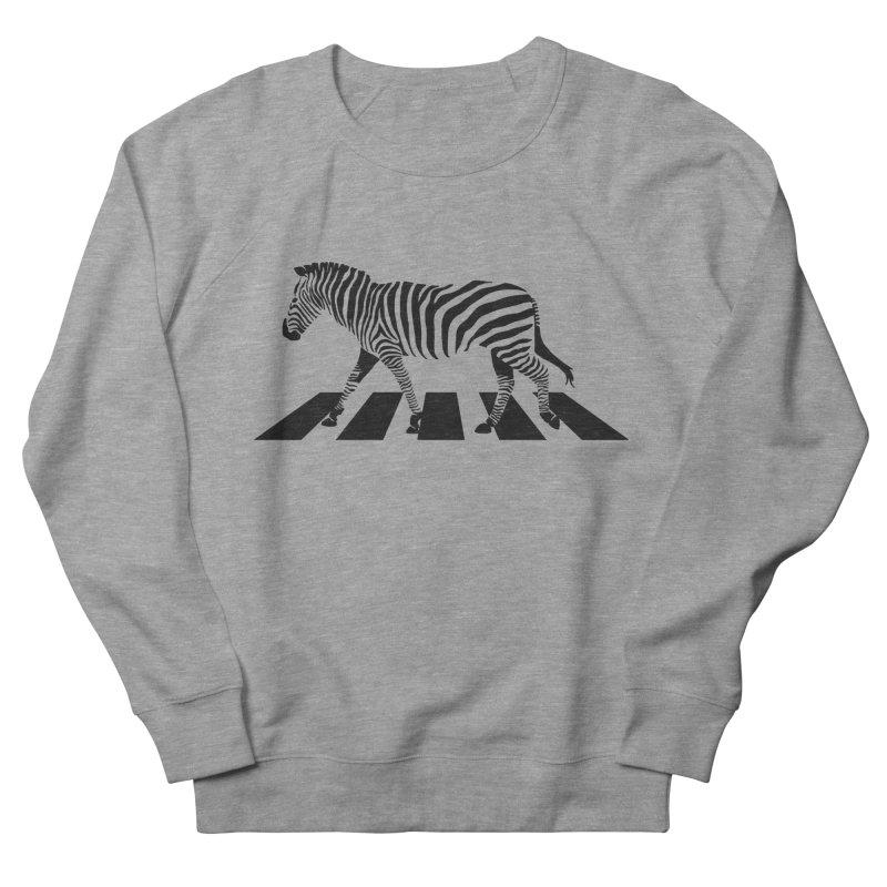 Zebra Crossing Men's Sweatshirt by steveash's Artist Shop