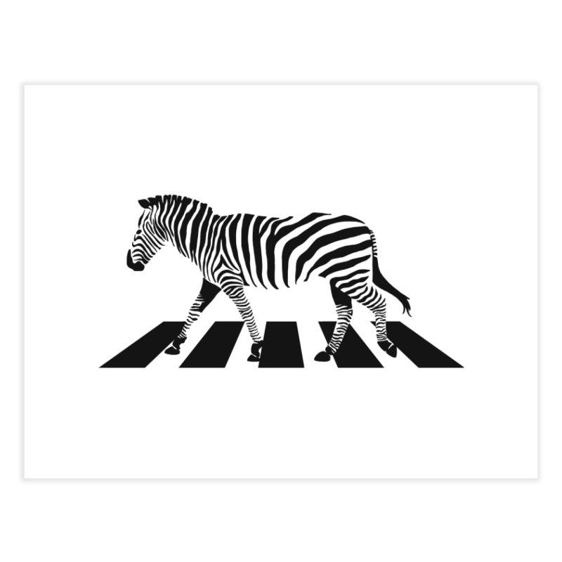 Zebra Crossing Home Fine Art Print by steveash's Artist Shop