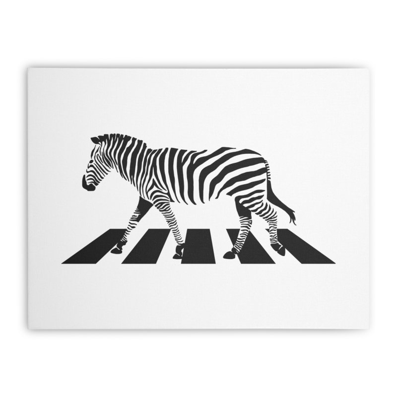 Zebra Crossing Home Stretched Canvas by steveash's Artist Shop