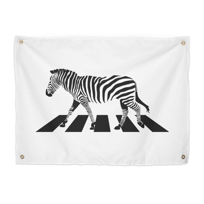 Zebra Crossing Home Tapestry by steveash's Artist Shop