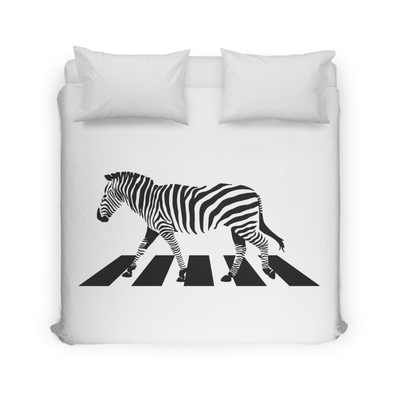 Zebra Crossing Home Duvet by steveash's Artist Shop