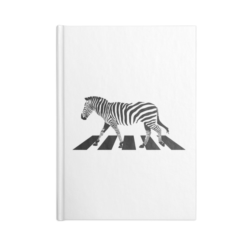 Zebra Crossing Accessories Notebook by steveash's Artist Shop