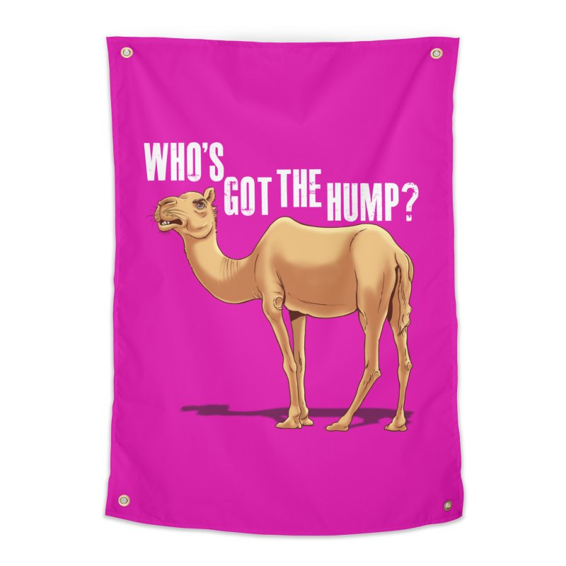 Who's got the Hump Home Tapestry by steveash's Artist Shop