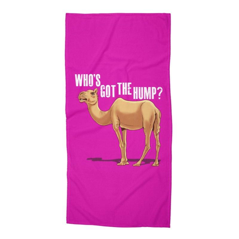 Who's got the Hump Accessories Beach Towel by steveash's Artist Shop