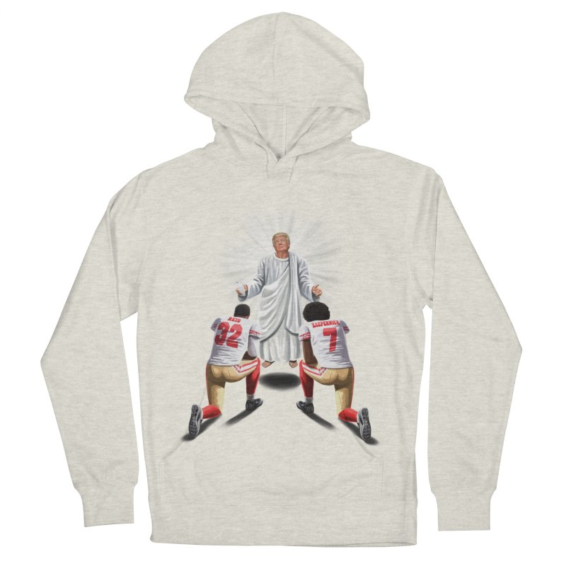 You Will Stand for Me im God. Women's French Terry Pullover Hoody by steveash's Artist Shop