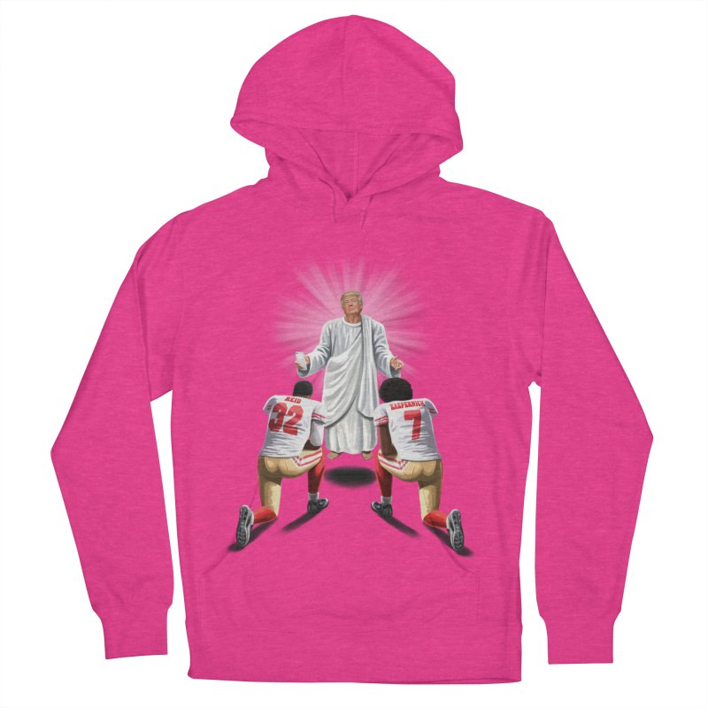 You Will Stand for Me im God. Women's Pullover Hoody by steveash's Artist Shop