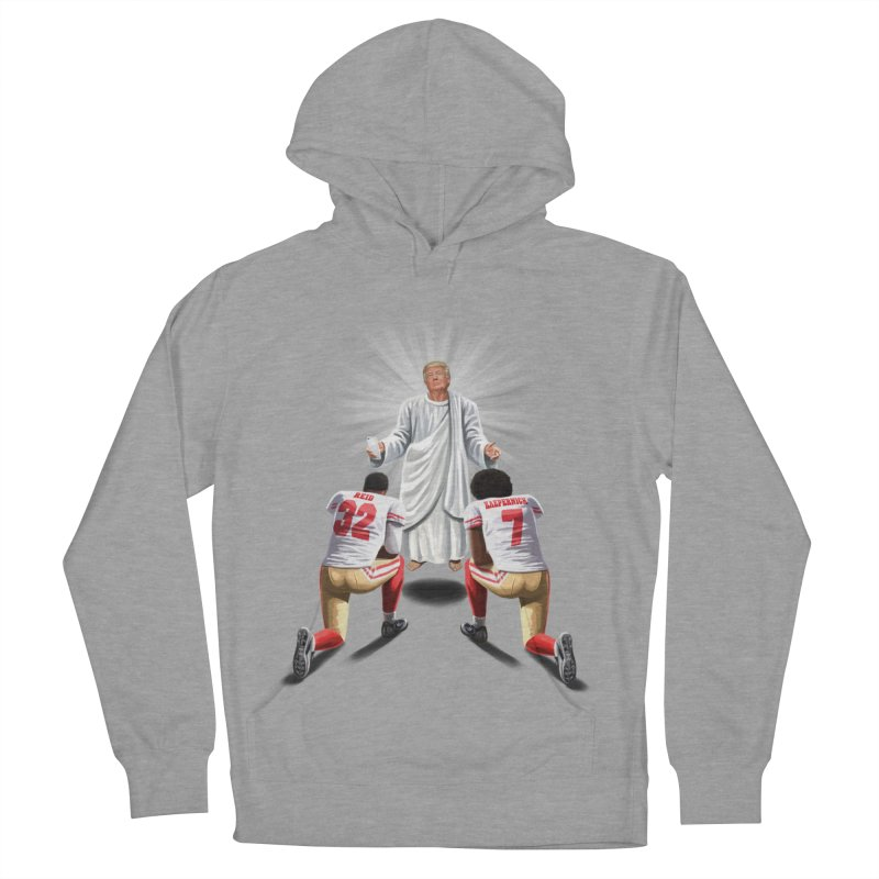 You Will Stand for Me im God. Men's French Terry Pullover Hoody by steveash's Artist Shop