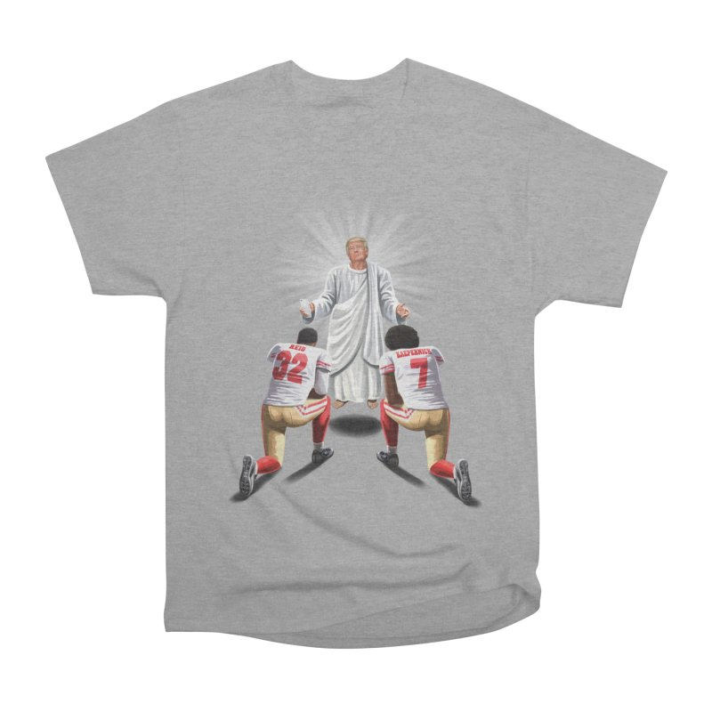 You Will Stand for Me im God. Women's Heavyweight Unisex T-Shirt by steveash's Artist Shop