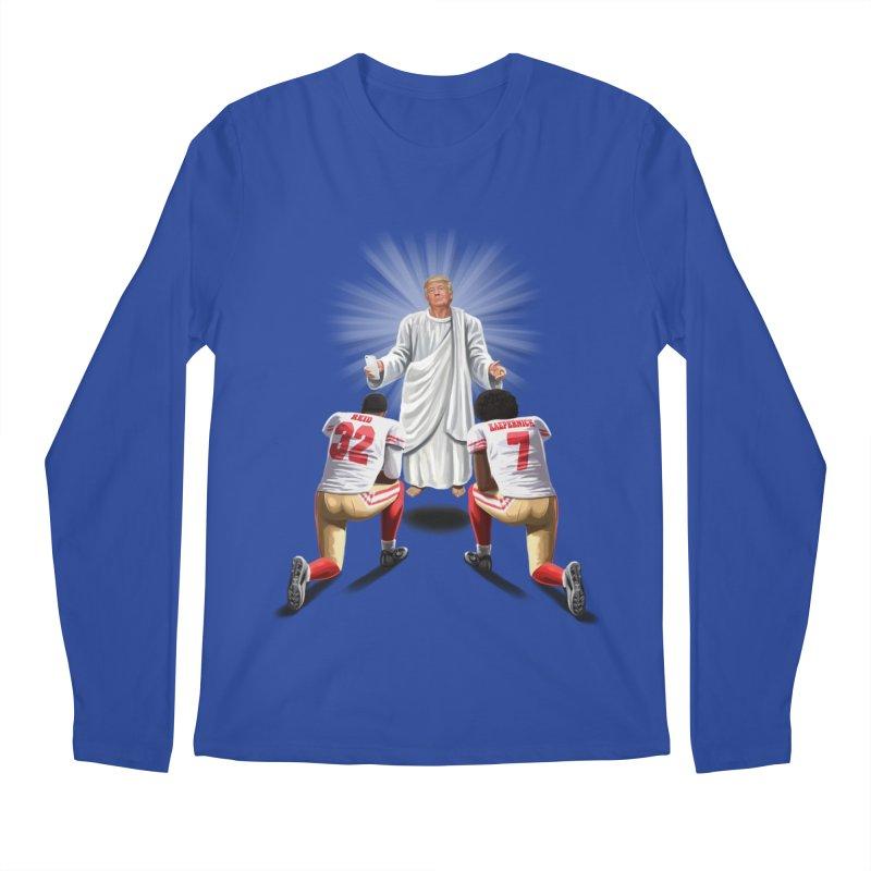 You Will Stand for Me im God. Men's Regular Longsleeve T-Shirt by steveash's Artist Shop