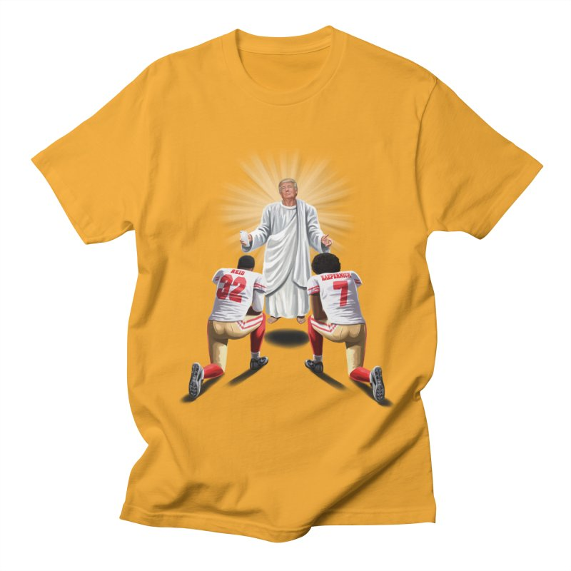 You Will Stand for Me im God. Women's Unisex T-Shirt by steveash's Artist Shop