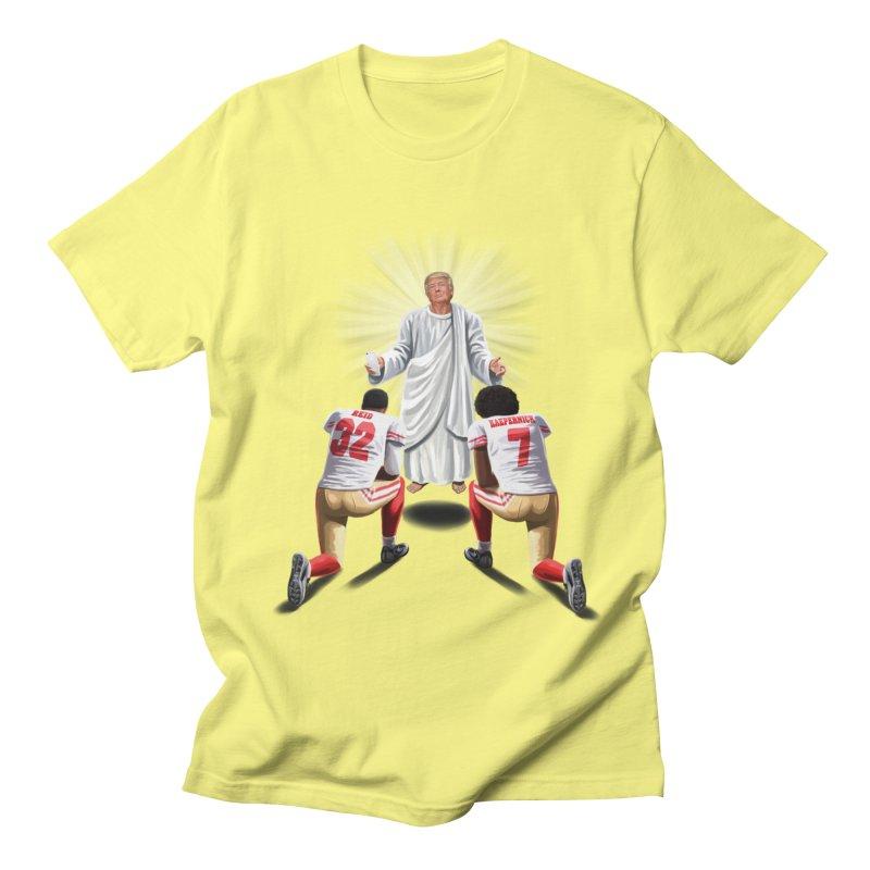 You Will Stand for Me im God. Men's Regular T-Shirt by steveash's Artist Shop