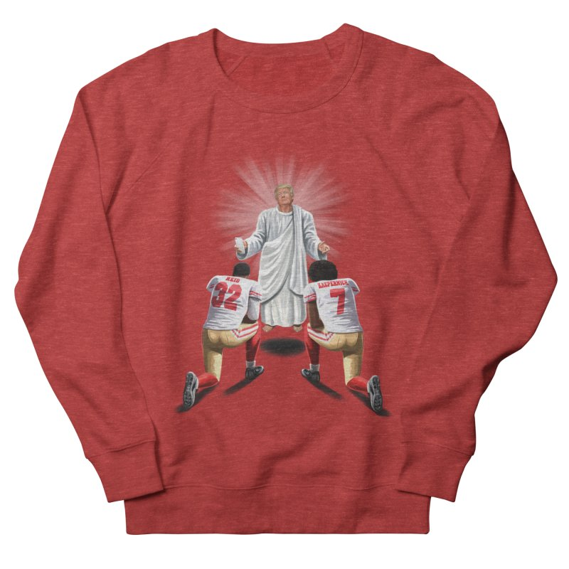 You Will Stand for Me im God. Women's French Terry Sweatshirt by steveash's Artist Shop
