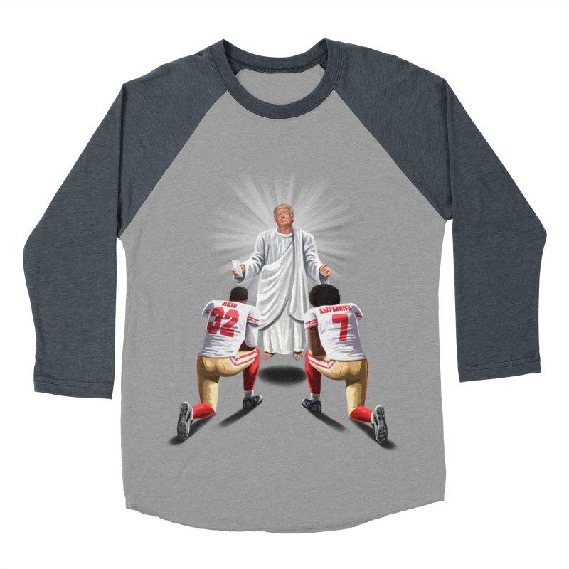 You Will Stand for Me im God. Men's Baseball Triblend Longsleeve T-Shirt by steveash's Artist Shop
