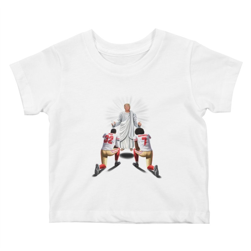 You Will Stand for Me im God. Kids Baby T-Shirt by steveash's Artist Shop