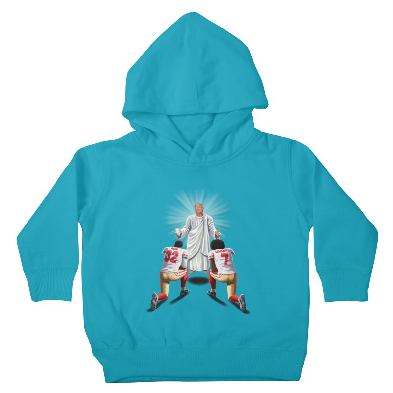 You Will Stand for Me im God. Kids Toddler Pullover Hoody by steveash's Artist Shop