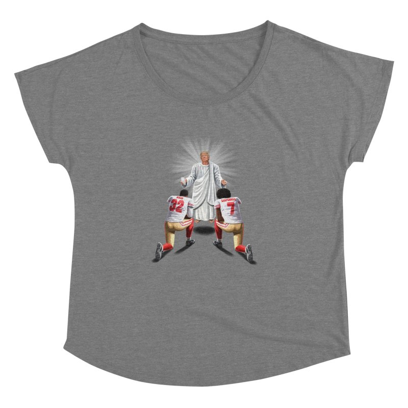 You Will Stand for Me im God. Women's Dolman by steveash's Artist Shop