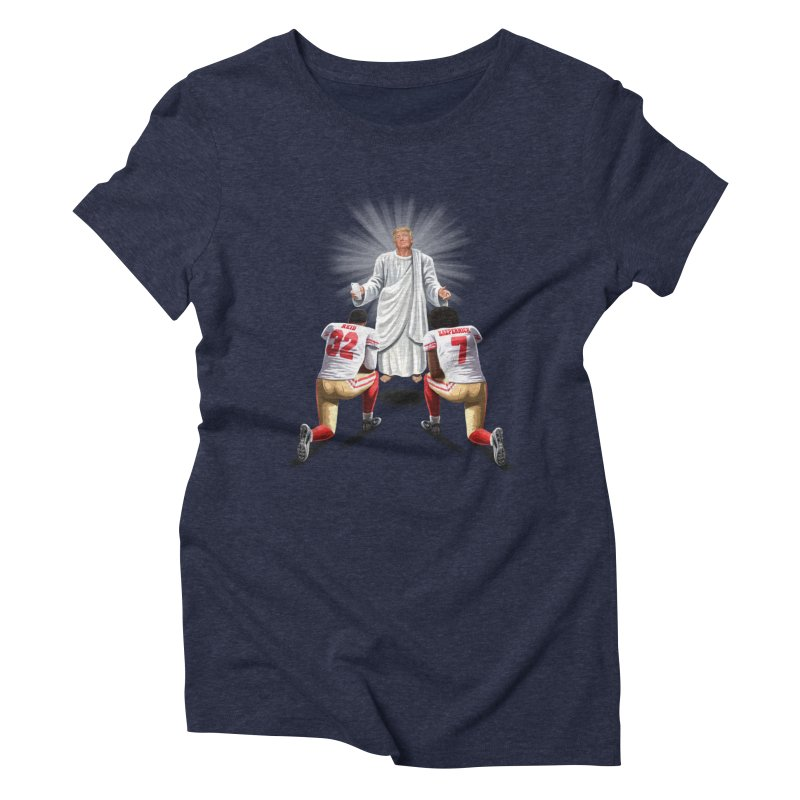 You Will Stand for Me im God. Women's Triblend T-Shirt by steveash's Artist Shop