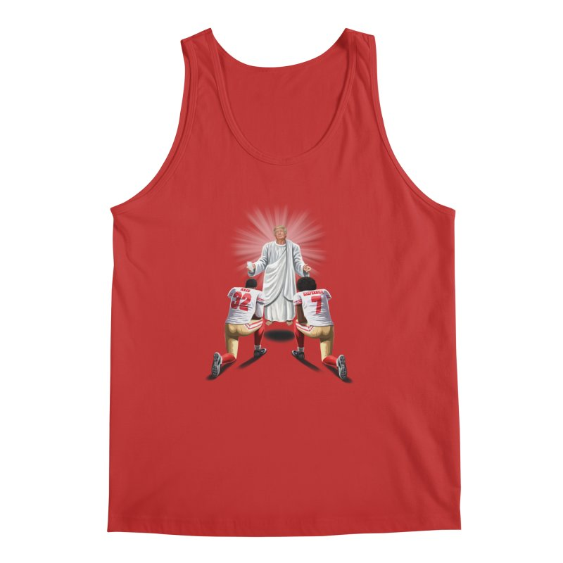 You Will Stand for Me im God. Men's Regular Tank by steveash's Artist Shop