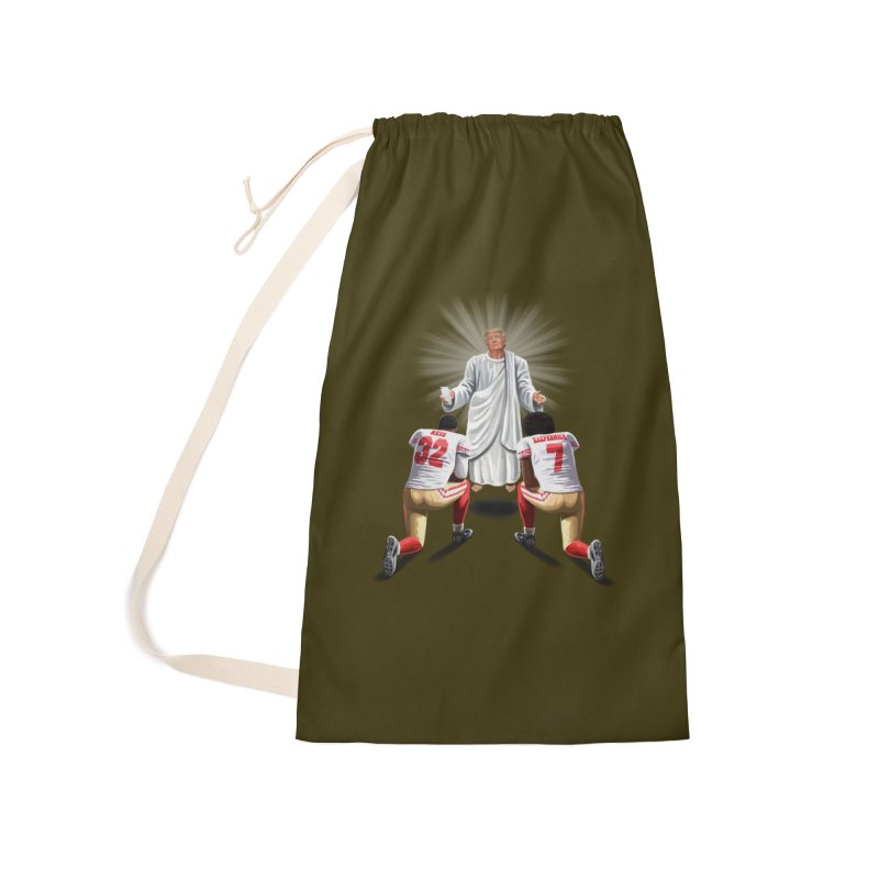 You Will Stand for Me im God. Accessories Laundry Bag Bag by steveash's Artist Shop