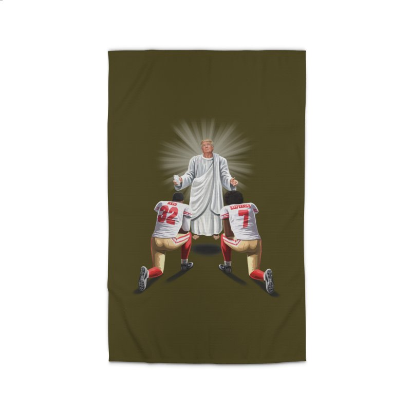 You Will Stand for Me im God. Home Rug by steveash's Artist Shop