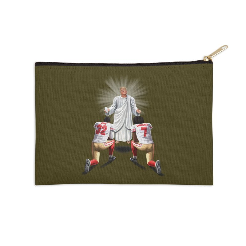 You Will Stand for Me im God. Accessories Zip Pouch by steveash's Artist Shop