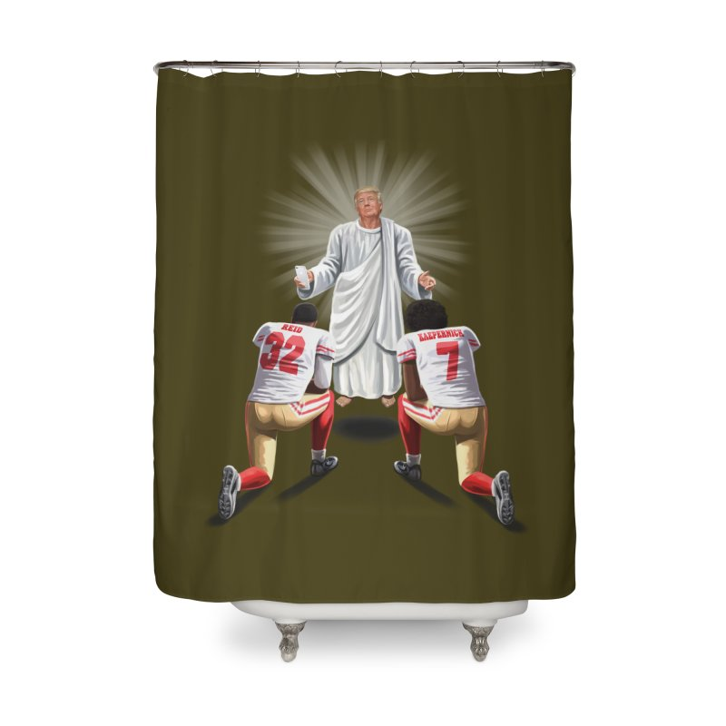You Will Stand for Me im God. Home Shower Curtain by steveash's Artist Shop