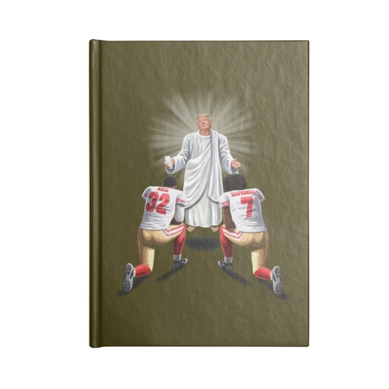 You Will Stand for Me im God. Accessories Lined Journal Notebook by steveash's Artist Shop