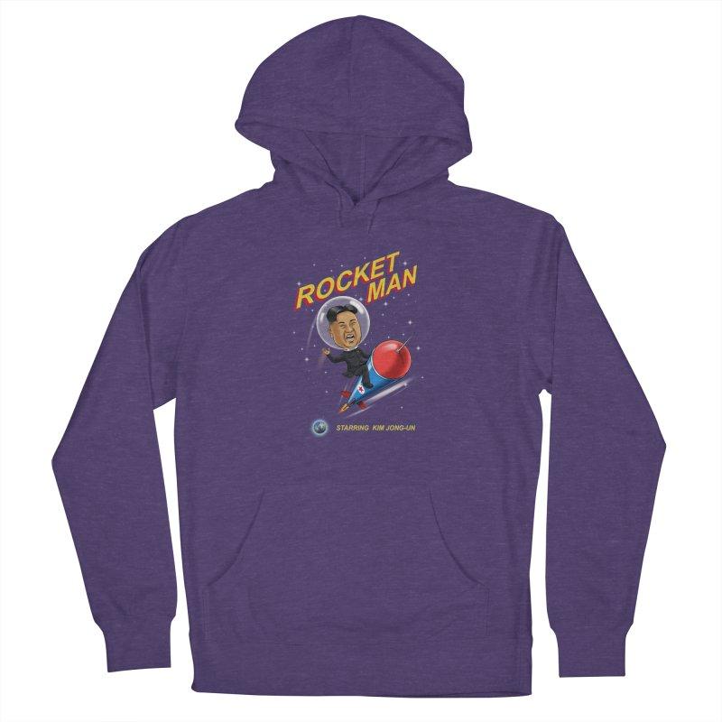Rocket Man Women's Pullover Hoody by steveash's Artist Shop