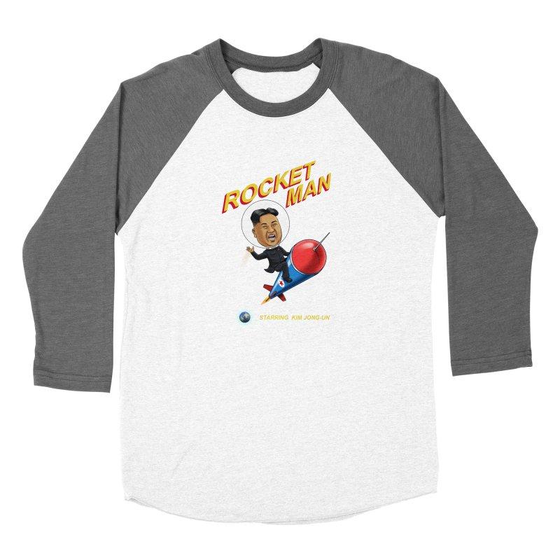Rocket Man Women's Longsleeve T-Shirt by steveash's Artist Shop