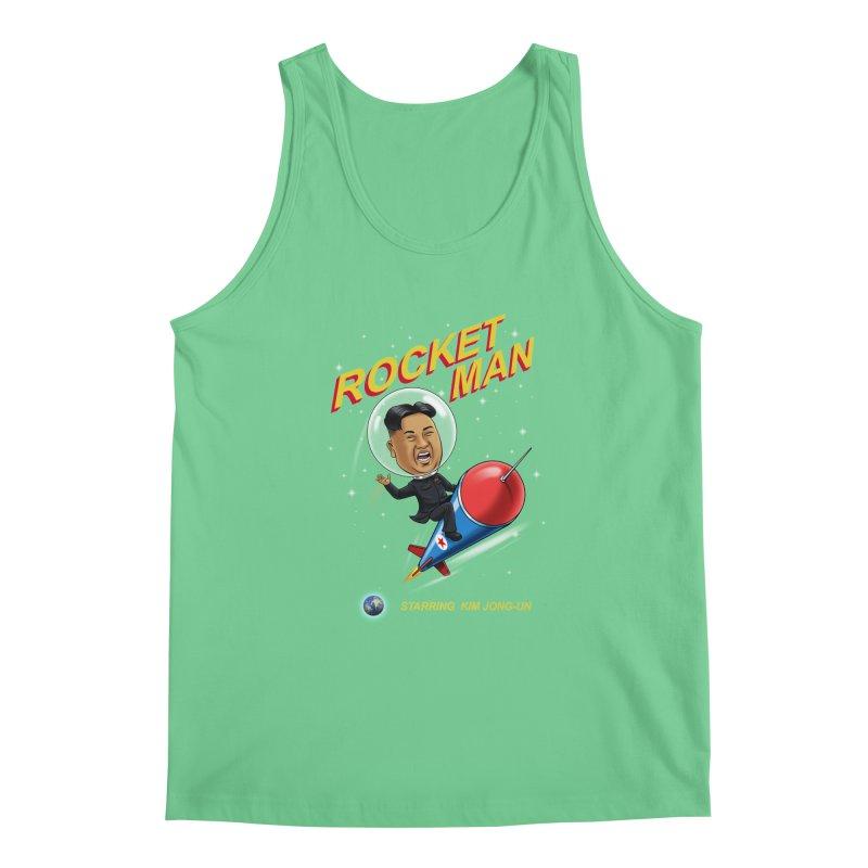 Rocket Man Men's Regular Tank by steveash's Artist Shop