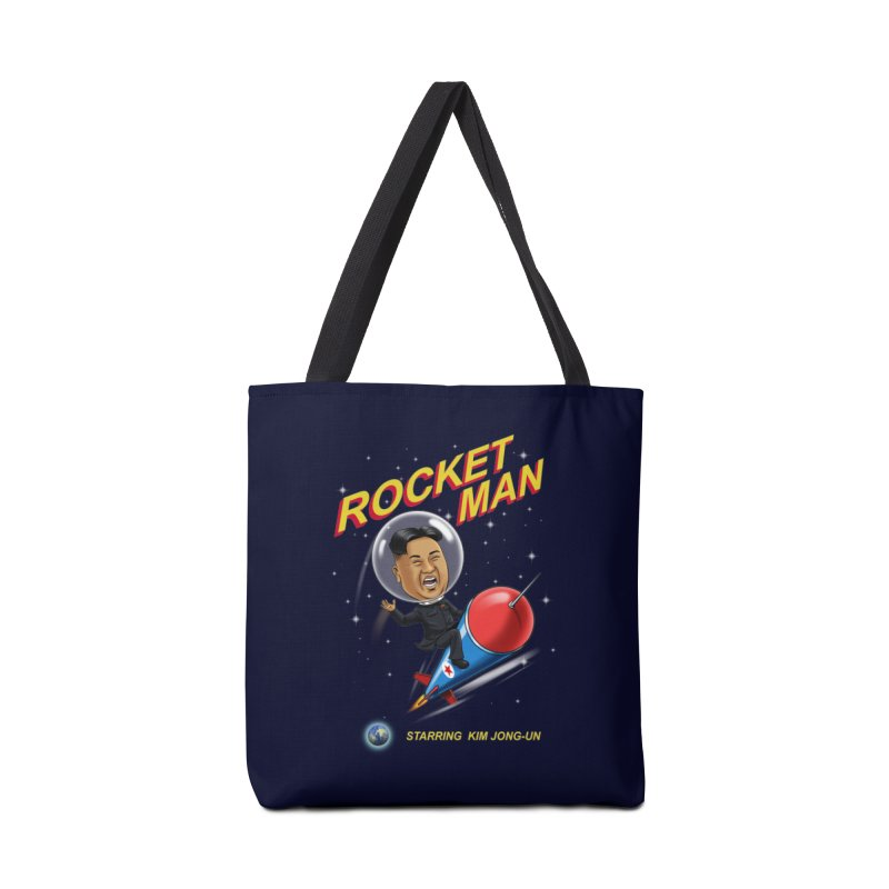 Rocket Man Accessories Bag by steveash's Artist Shop