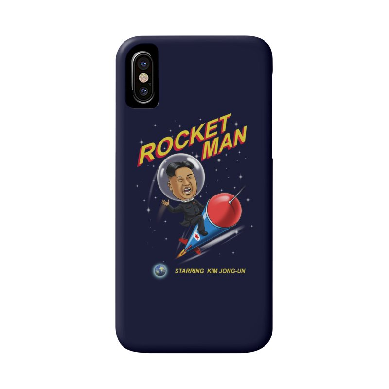 Rocket Man Accessories Phone Case by steveash's Artist Shop