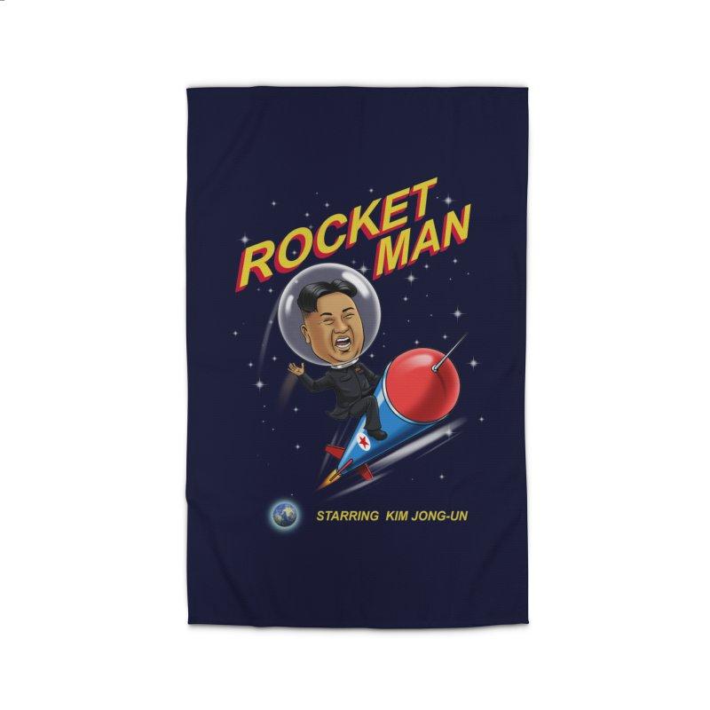 Rocket Man Home Rug by steveash's Artist Shop